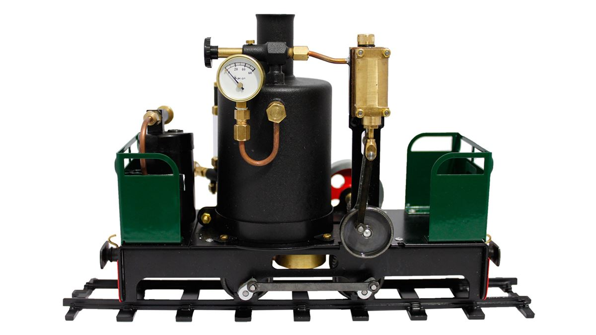 Brunel Vertical Boiler Engine