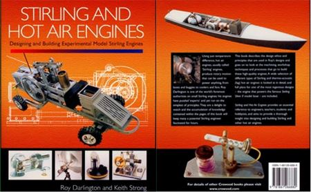 Stirling and Hot Air Engines Book