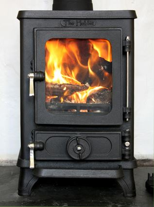 Hobbit cast iron stove 4kw